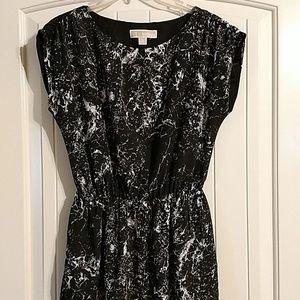 MICHAEL Michael Kors black & white dress